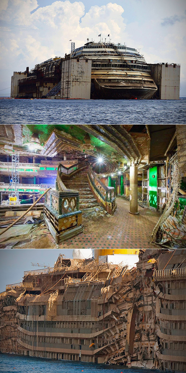 inside costa concordia today www imgkid the image