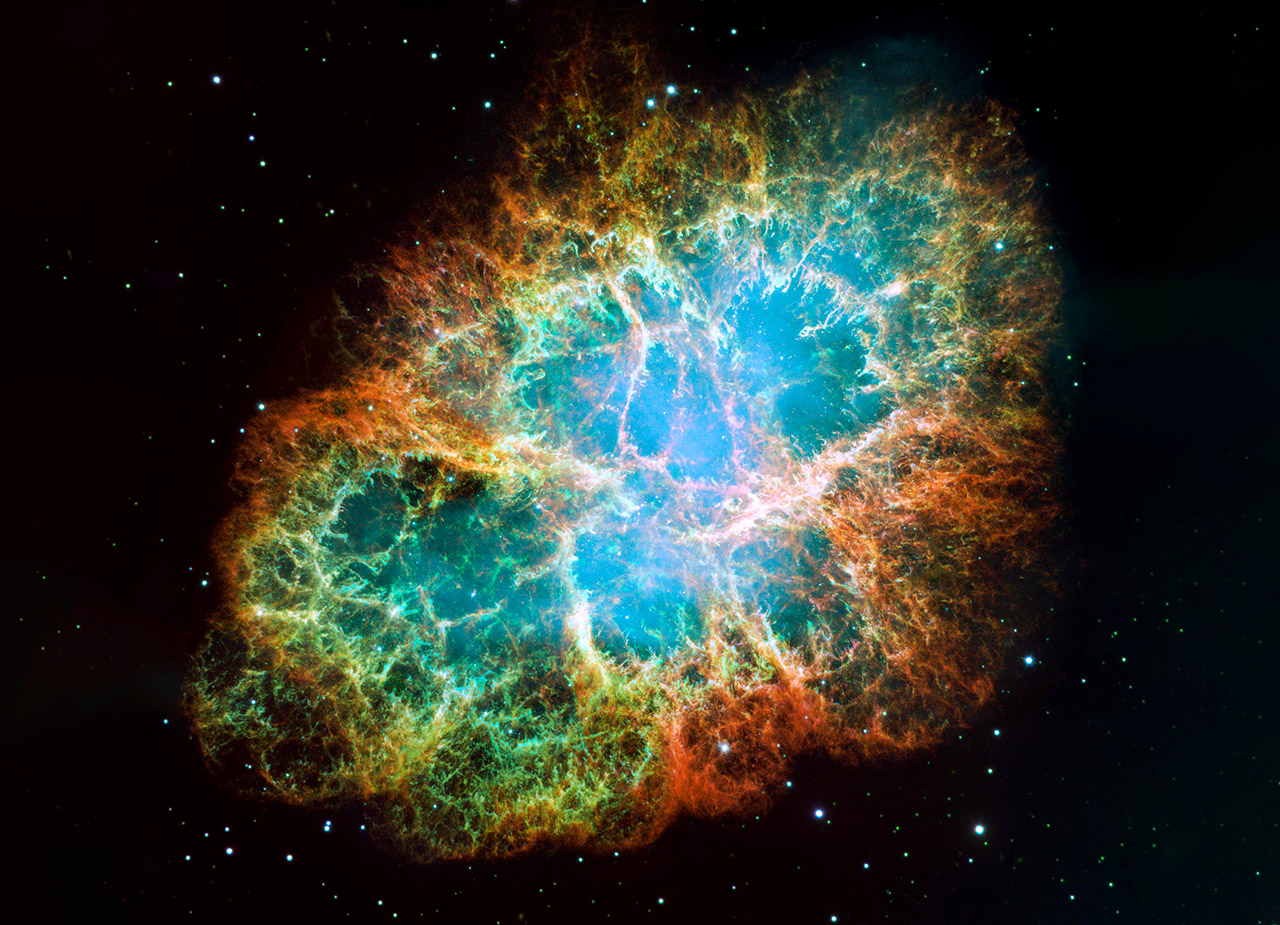 Crab Nebula Most Powerful Particle Accelerator