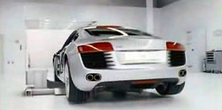 Audi Releases New R Commercial The Slowest Car Weve Ever Built - Audi r8 commercial