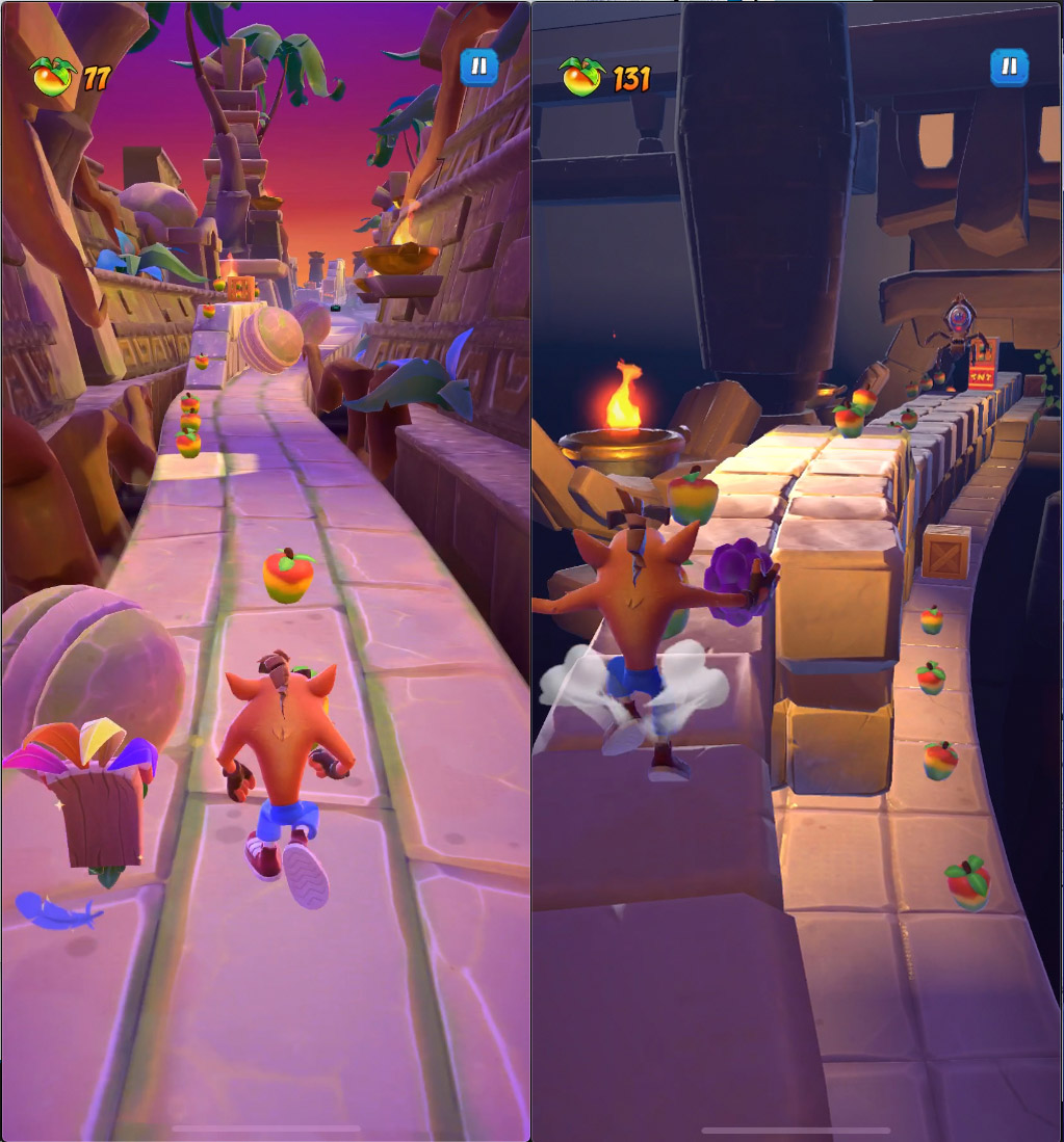 Crash Bandicoot: On the Run! iOS Android