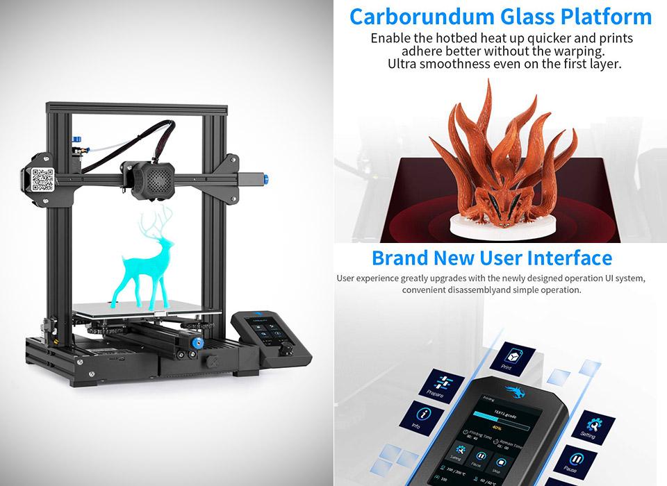 Creality Ender 3 V2 Upgraded 3D Printer