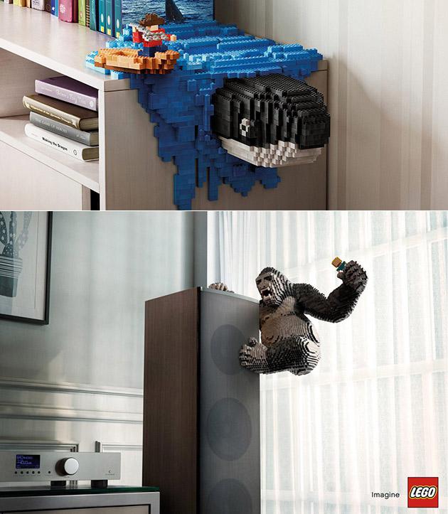 Creative LEGO Ad