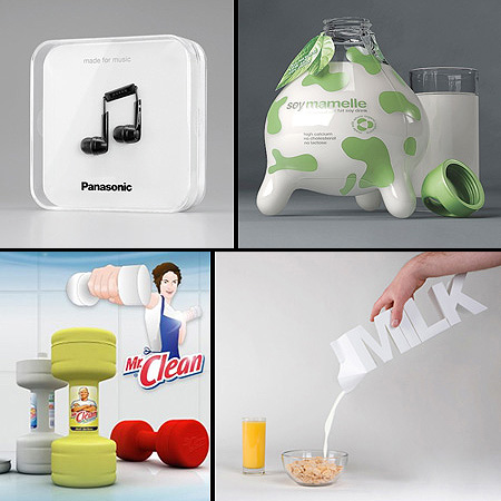 Creative product packaging design for Creative product design
