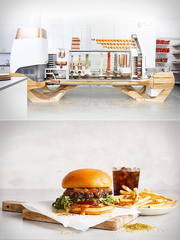 Creator Burger Robot
