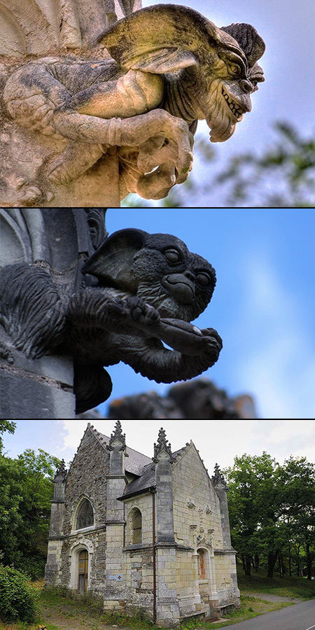 30 Cool And Creepy Gargoyles Monsters From Around The