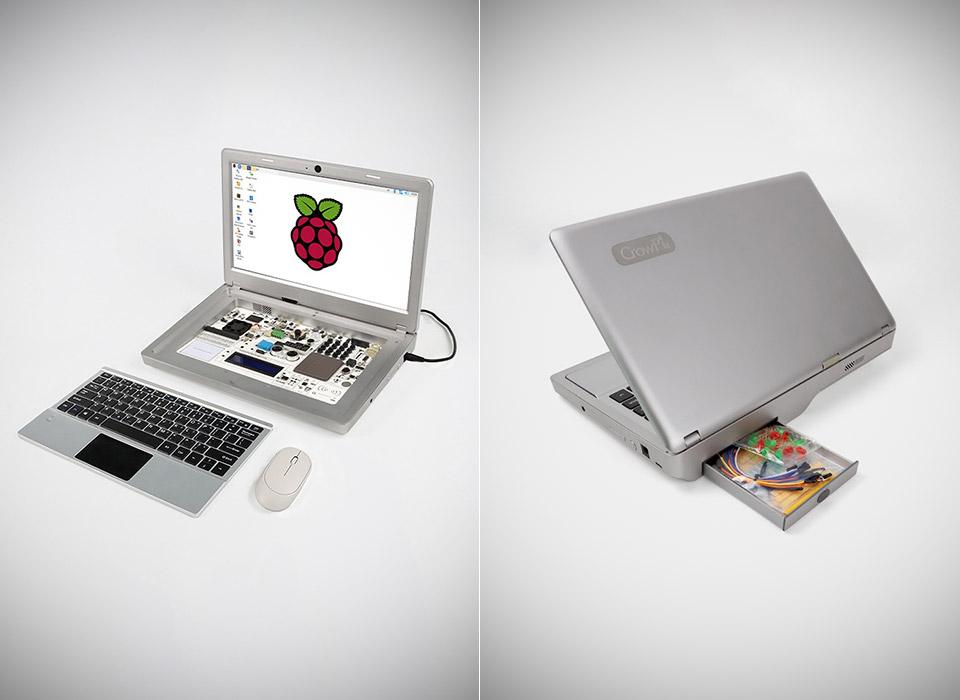 CrowPi2 Raspberry Pi Laptop