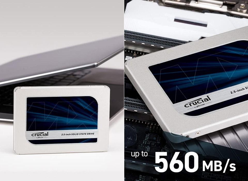 Crucial MX500 3D NAND SSD