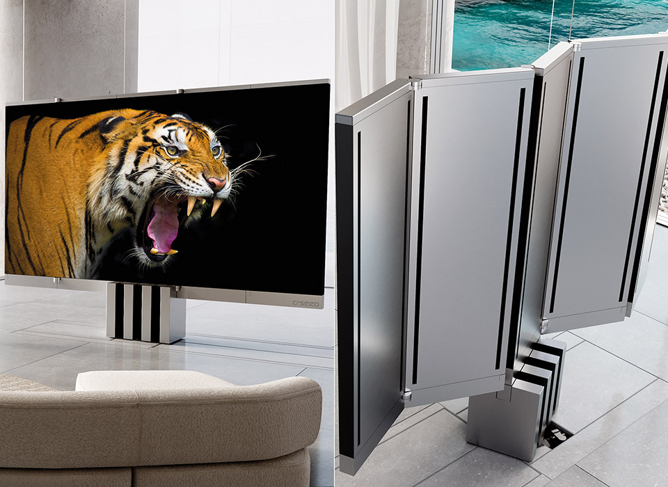 C-SEED M1 First Foldable 165-inch microLED TV