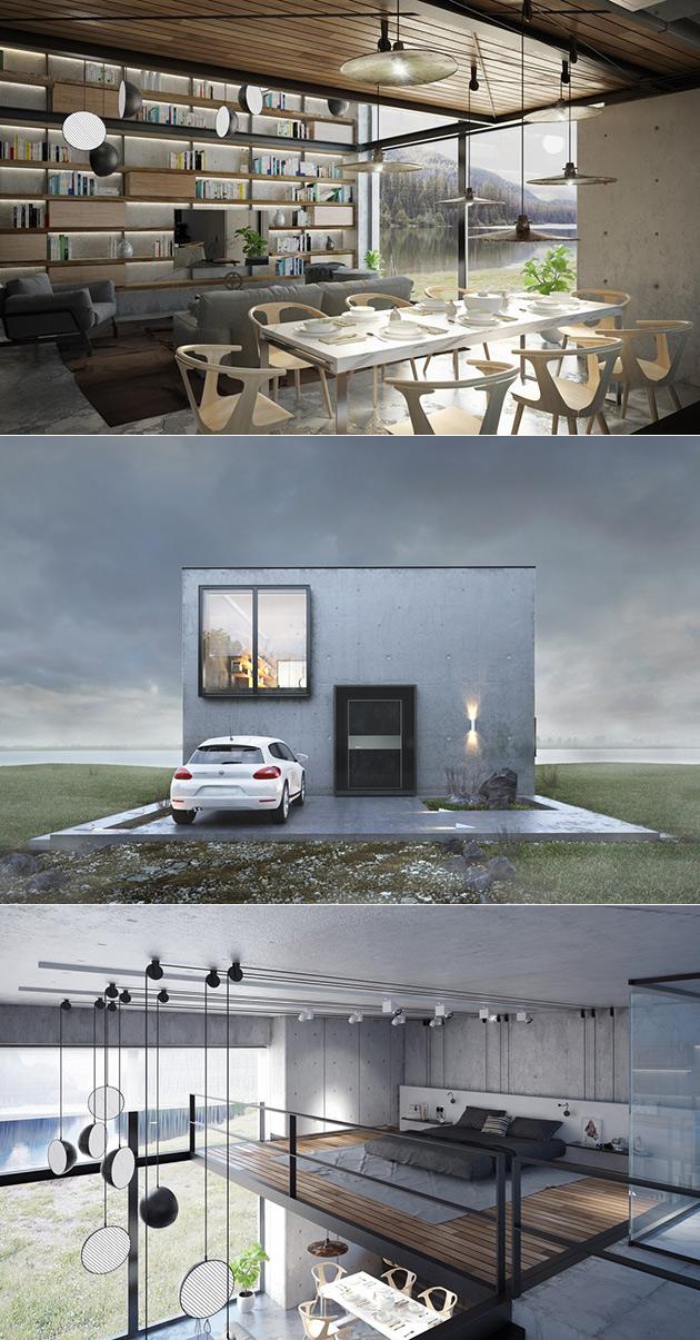 Cube Kube Concrete Home