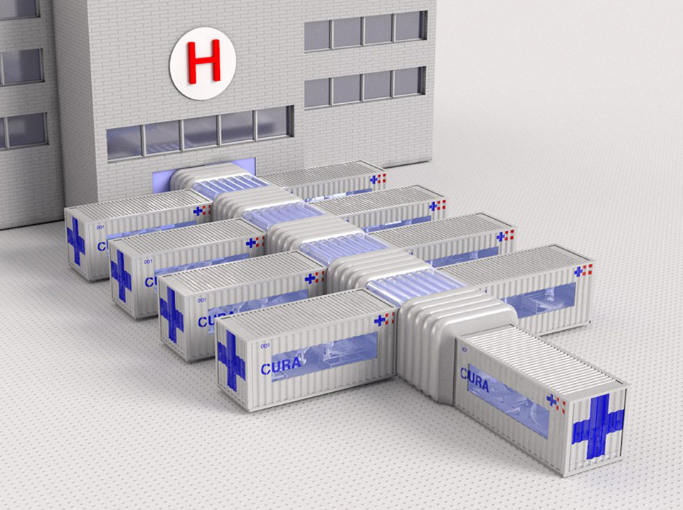 CURA Shipping Container Hospital