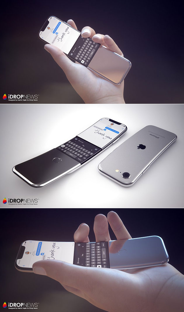 Curved iPhone Display