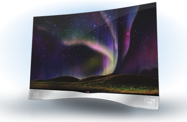 LG Curved TV