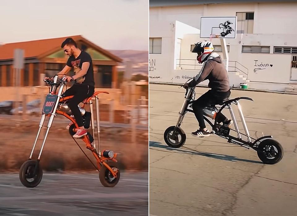 Custom Extending Bicycle