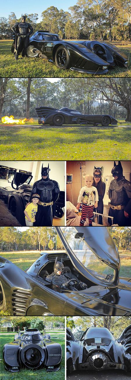 Homemade Batmobile Australia