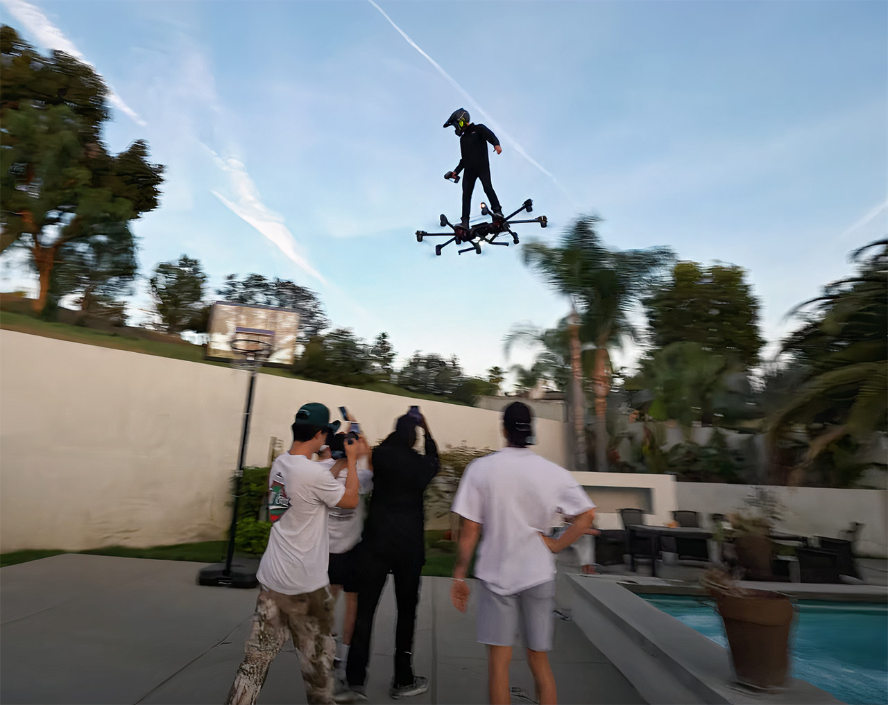 Custom Hoverboard Drone