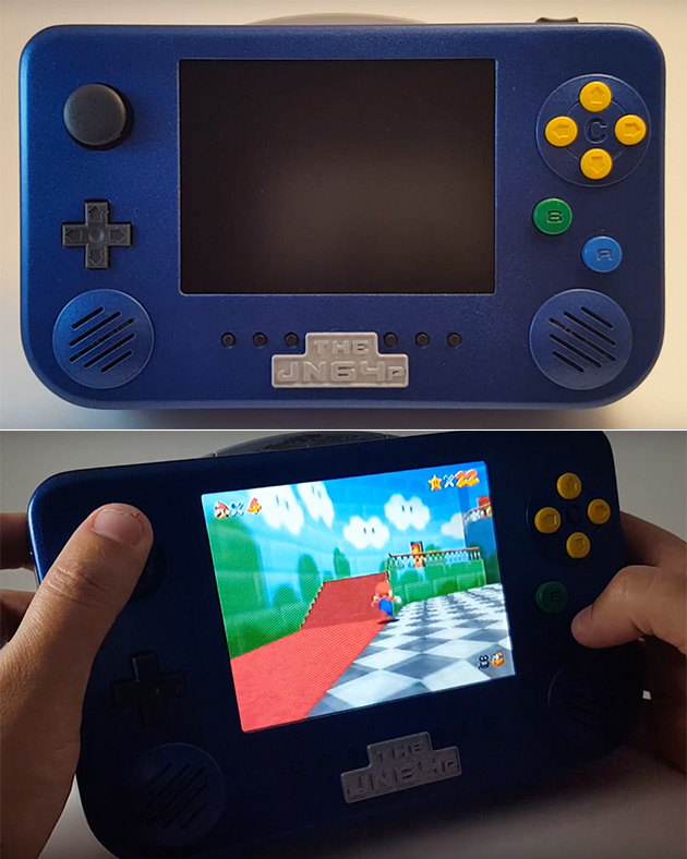 Custom Portable N64