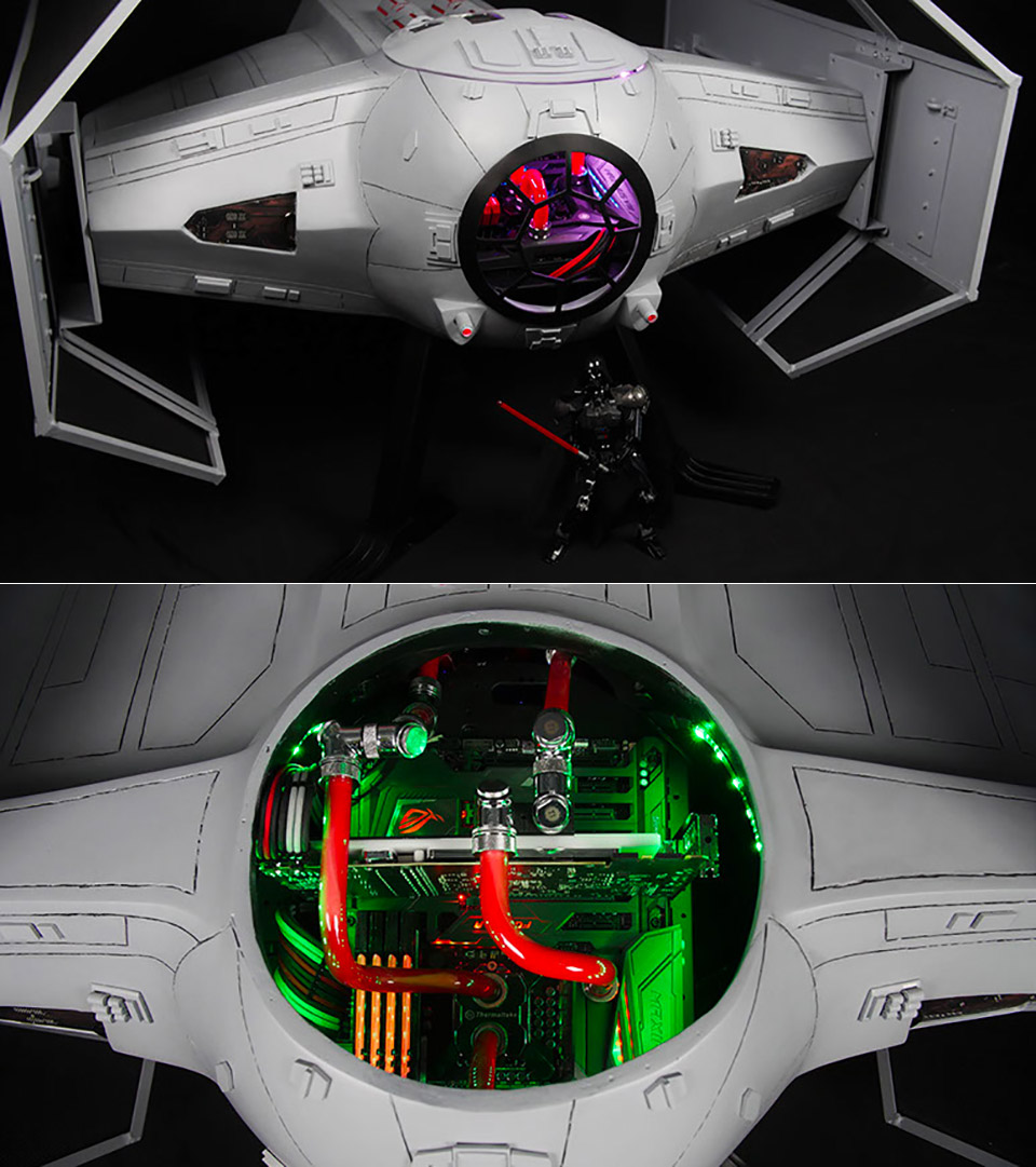 Custom Star Wars TIE Fighter PC