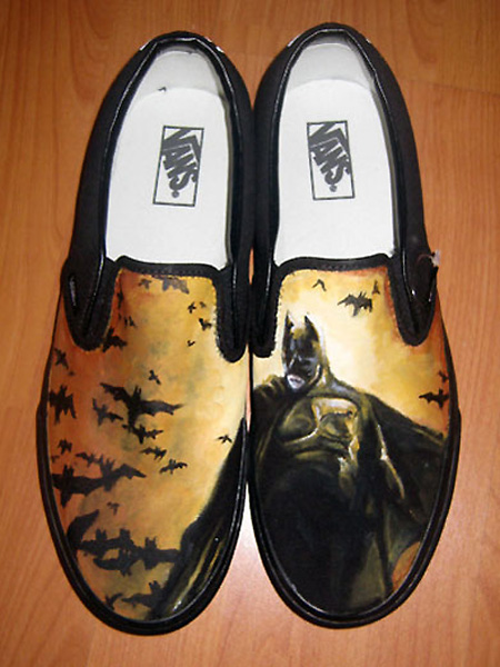 Worlds Geekiest Custom VANS Shoes