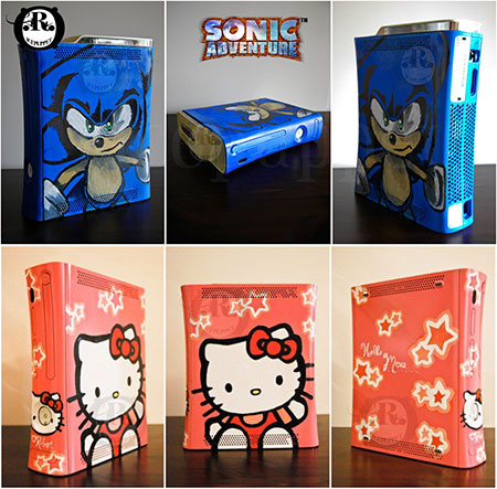 Video Games Ps3 Console Custom Video Game Consoles