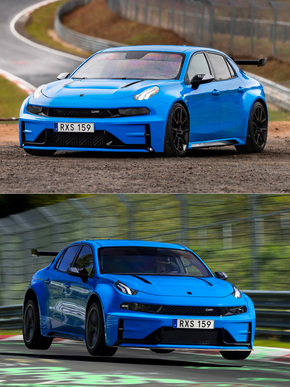 Cyan Racing Nurburgring Lynk Co 03 Concept