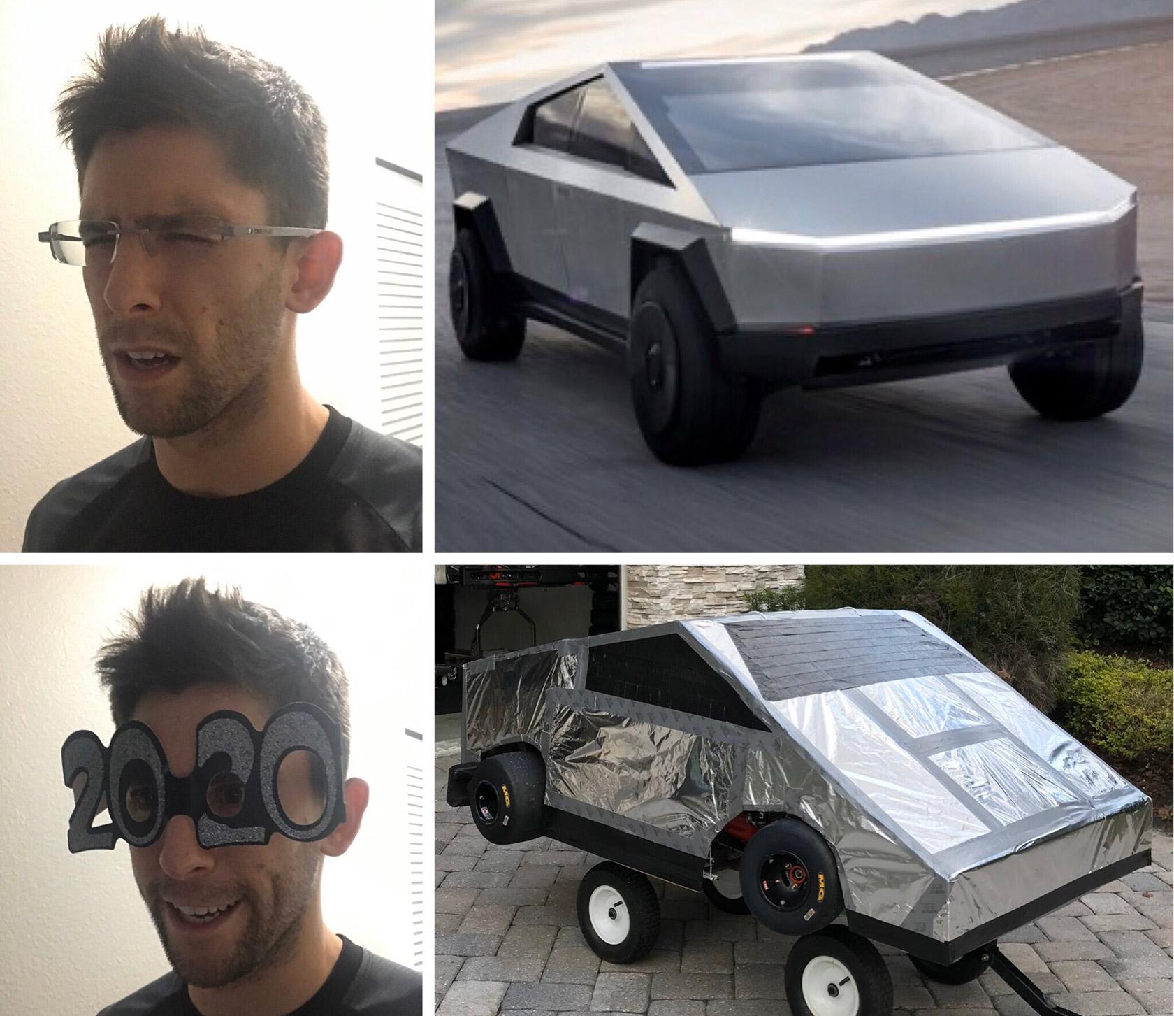 Cyberkart Tesla Cybertruck Go-Kart