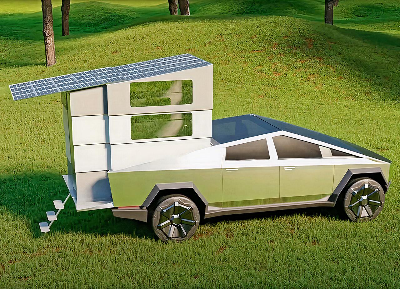 CyberLandr Tesla Cybertruck Camper