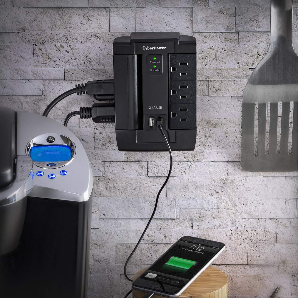 CyberPower Swivel Outlet Surge Protector