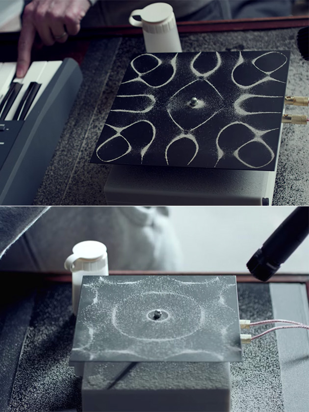 Cymatics Sounds Visualized