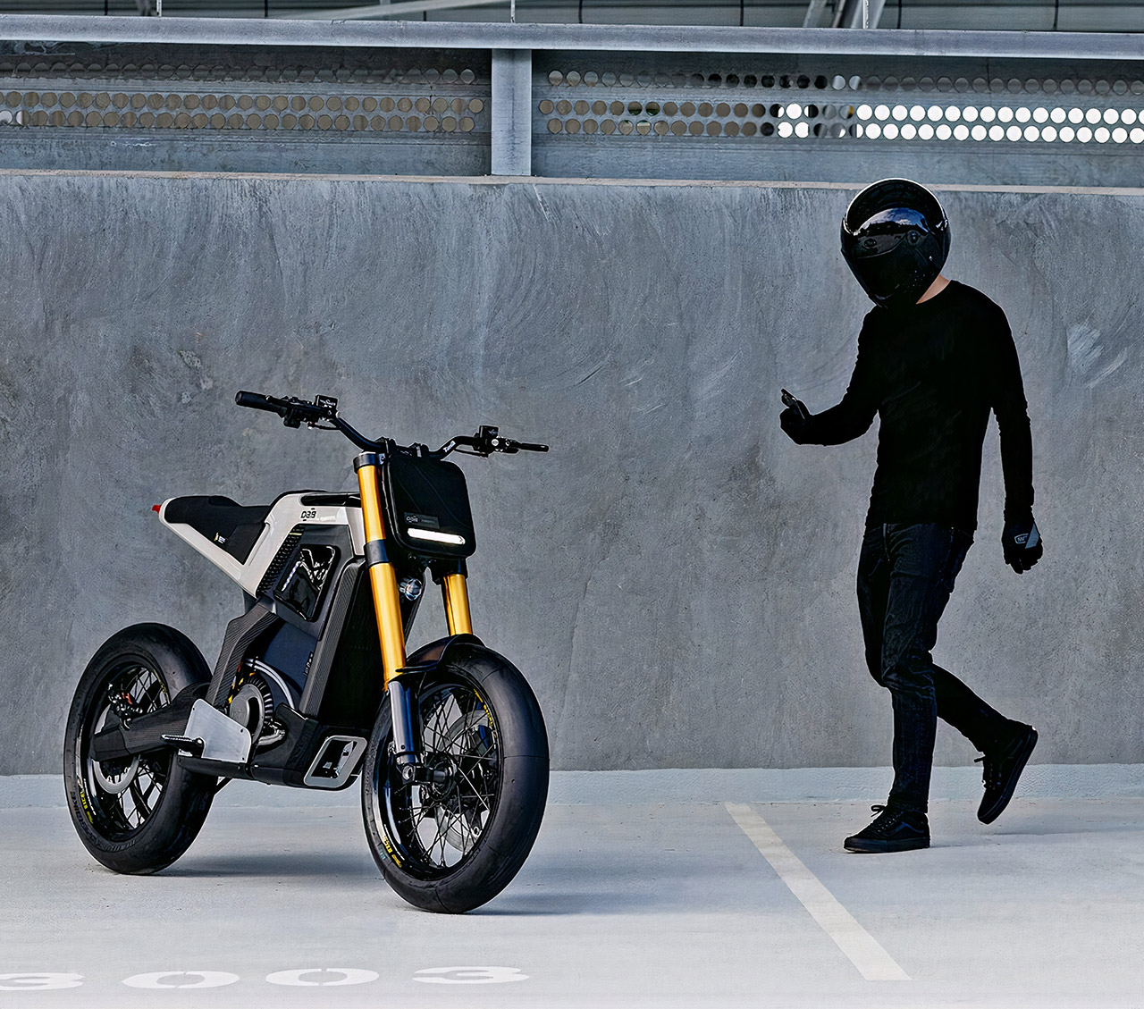 DAB Motors Concept-E Electric Motorcycle