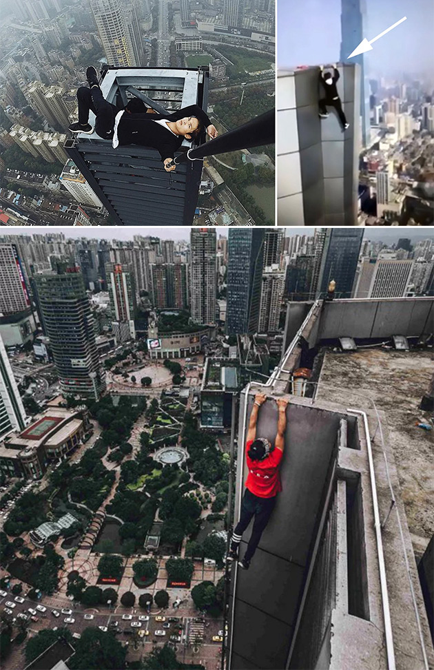 Chinese Rooftopper