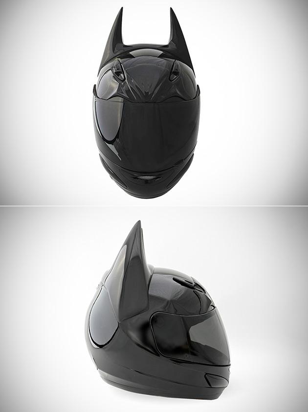 Dark Knight Batman Motorcycle Helmet Gets Upgraded With