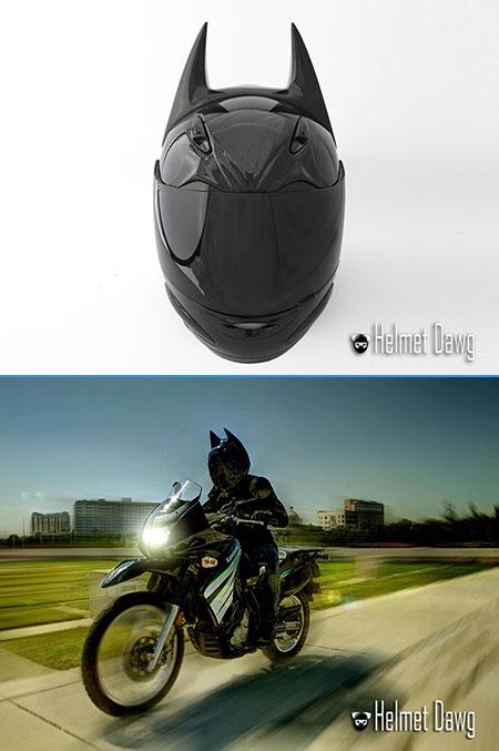The Dark Knight Batman Motorcycle Helmet Unveiled - TechEBlog Custom Star Wars Motorcycle Helmet