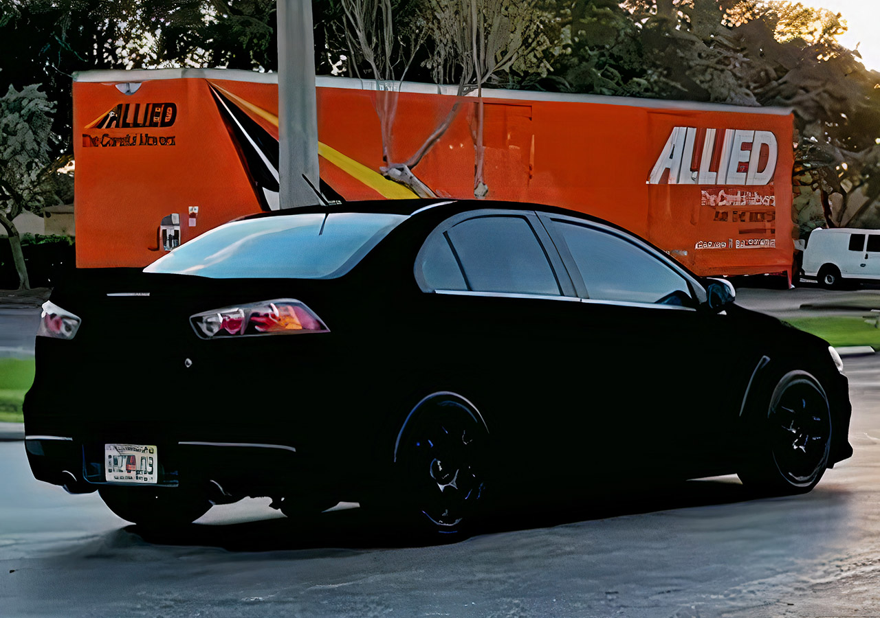 Darkest Blackest Paint Car