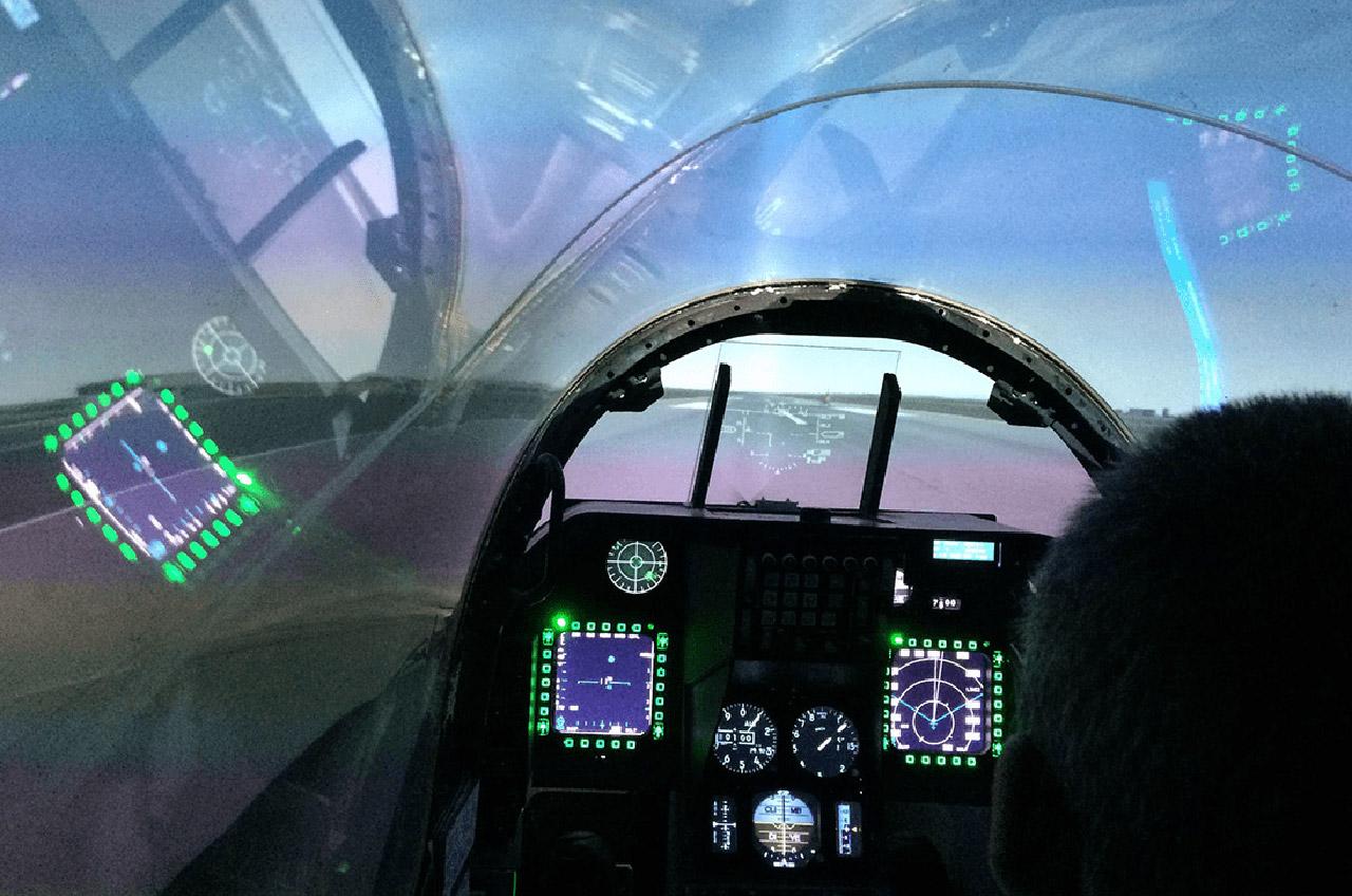 DARPA AlphaDogFight Trial AI Air Force Pilot