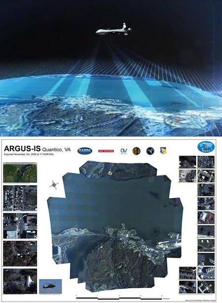 ARGUS-IS: A Tecnologia orwelliana da DARPA que leva a vigilância de vídeo a outro nível