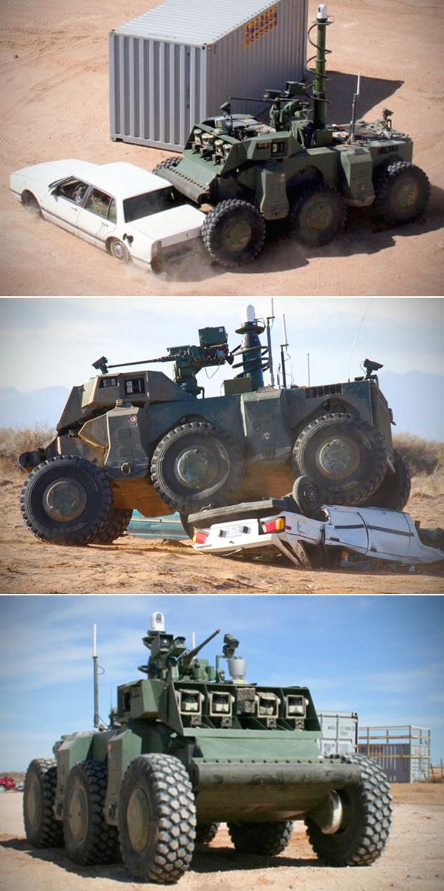 DARPA Crusher