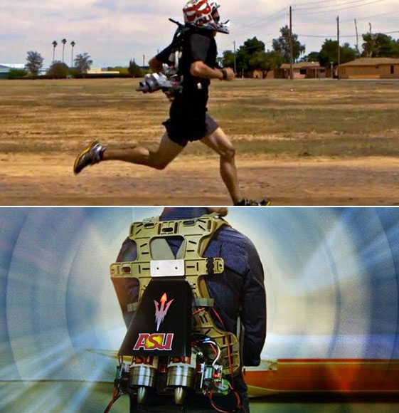 DARPA Jetpack Unveiled, Will Help You Run a 4-Minute Mile