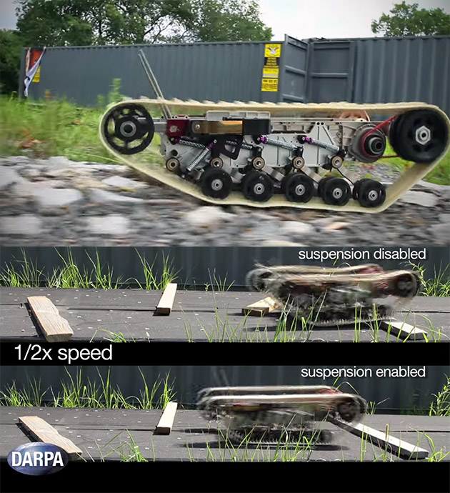 DARPA Robotic Suspension System