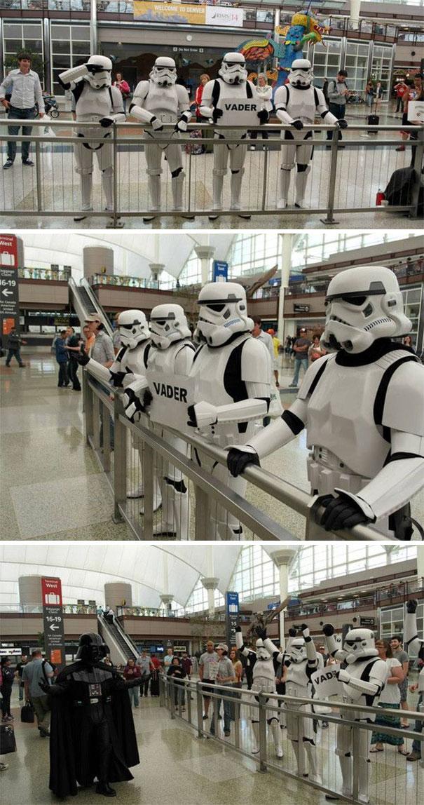 Darth Vader Airport