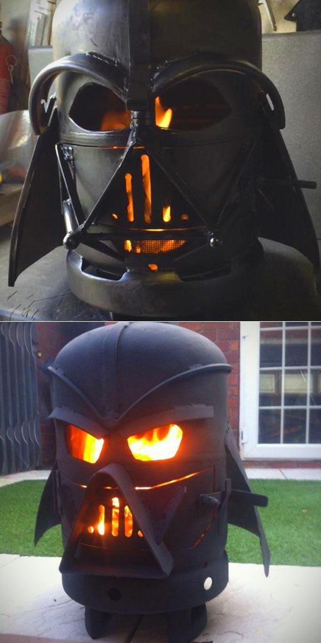 Darth Vader Firepit