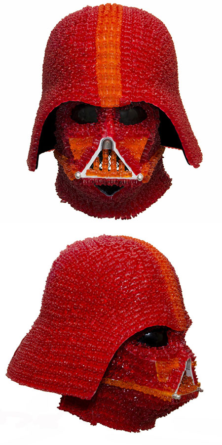 Darth Vader Gummy Bear Mask