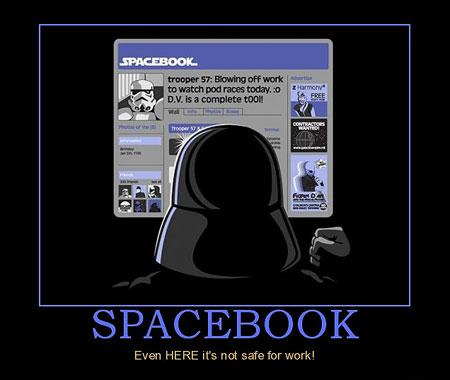How Darth Vader Uses Facebook Techeblog