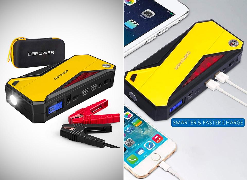DBPOWER 800A 180000mAh Portable Car Jump Starter
