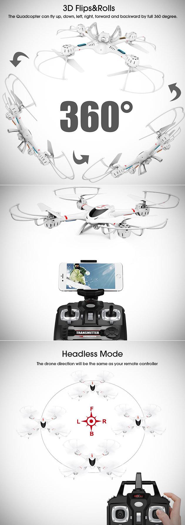 DBPOWER MJX X400W Drone