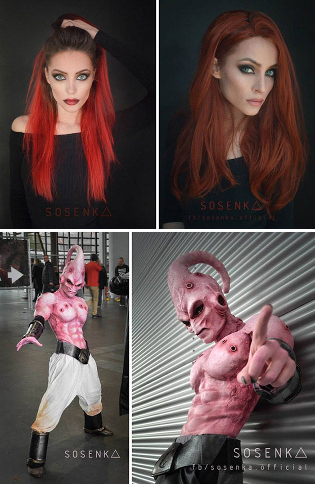 Majin Buu Cosplayer