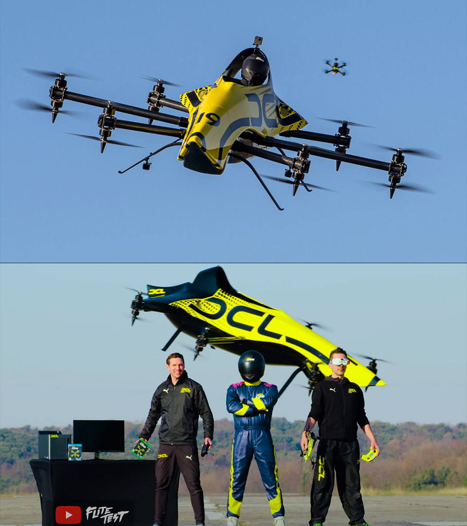 DCL Manned Racing Drone