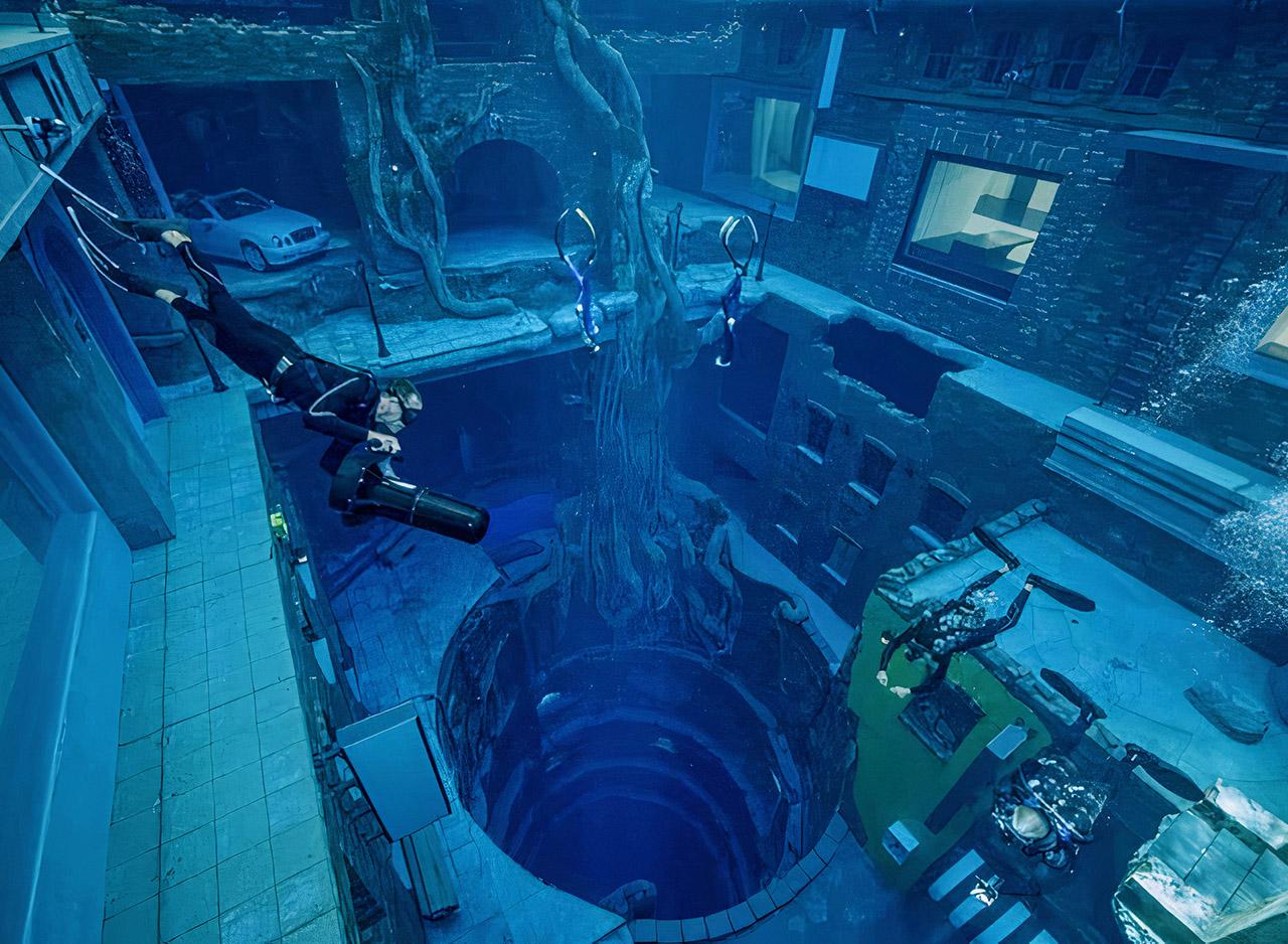 Deep Dive Dubai World's Deepest Swimming Pool