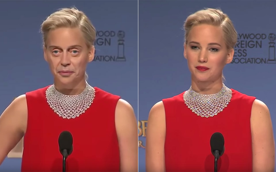 Deepfake Artificial Intelligence Steve Buscemi Jennifer Lawrence
