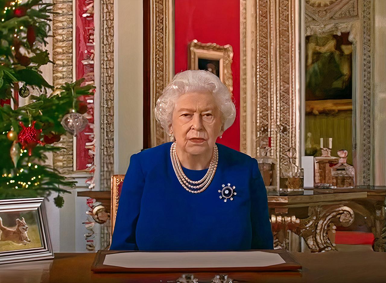 Deepfake Queen Speech