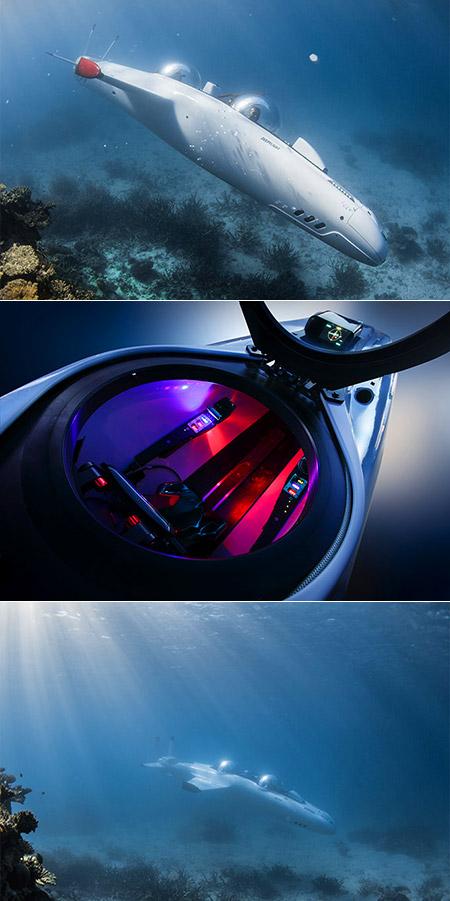 Deepflight Super Falcon Mark II Submarine